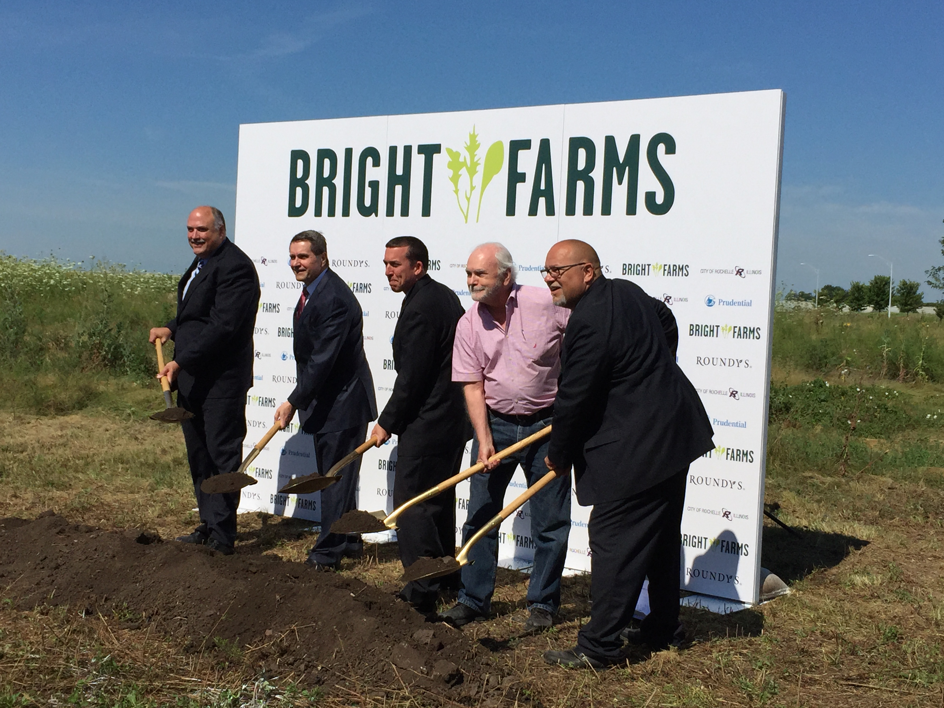 BrightFarms Groundbreaking Photo
