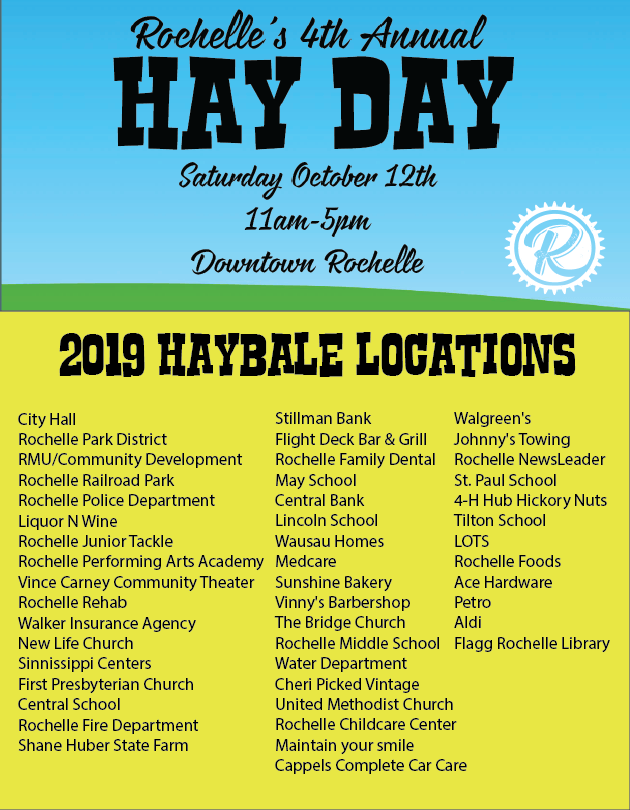 2019 Haybale Locations