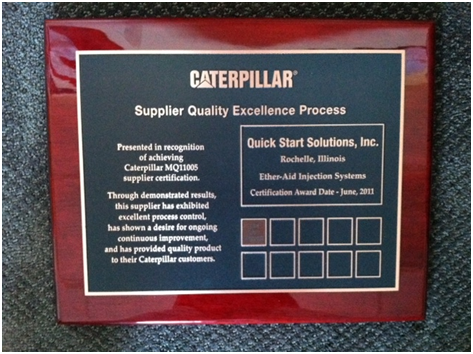 Supplier Quality Excellence Award