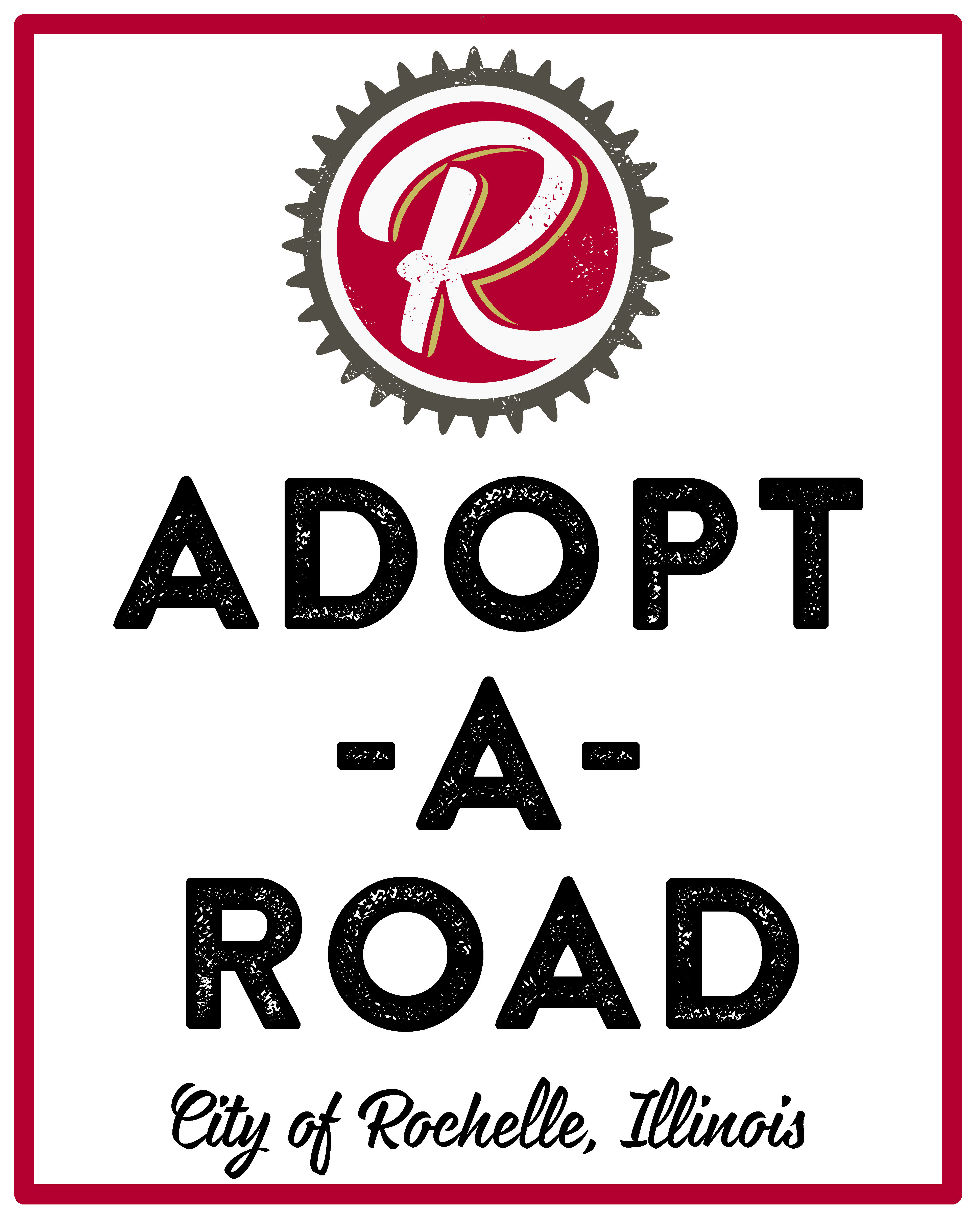 adopt a road signs
