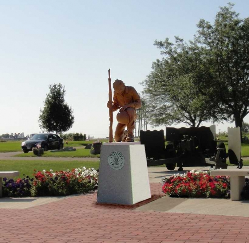 Rochelle Veterans Memorial Statue Proposed