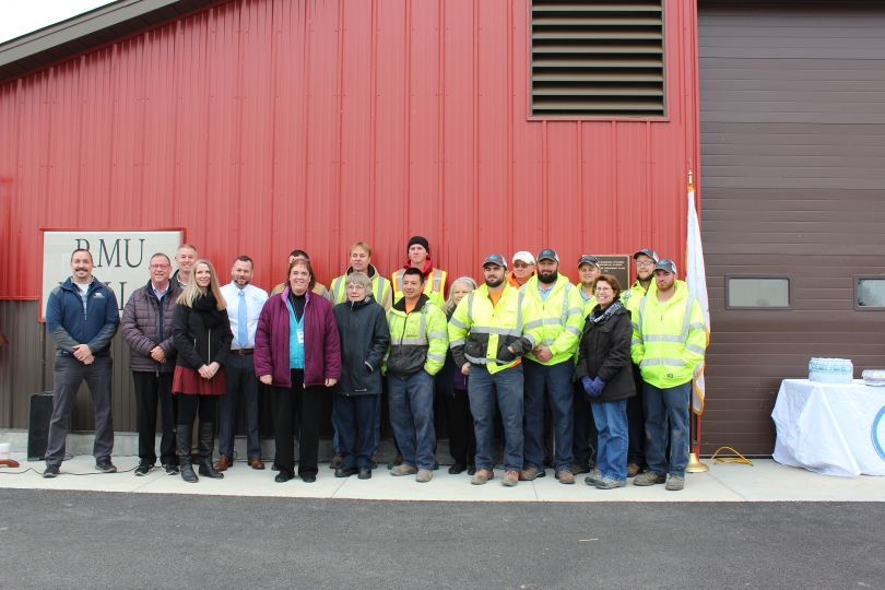 RMU Celebrates Completion of Radium Removal Plant
