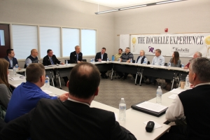 Governor Rauner Hosts Rochelle Business Leaders