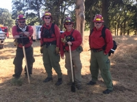 Rochelle-Trained for Wildland Fires