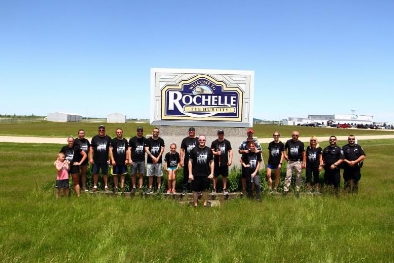 Rochelle Police Torch Run for Special Olympics