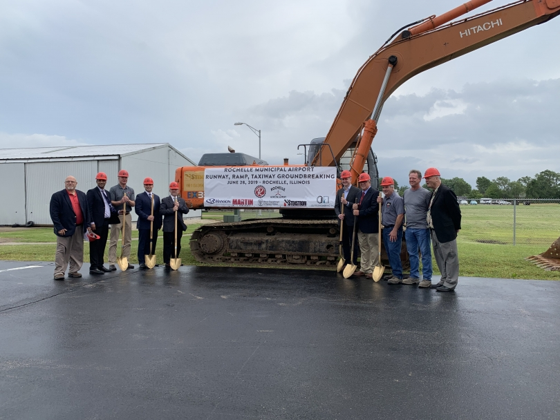 $3 2 Million Airport Enhancement Project Begins - City of